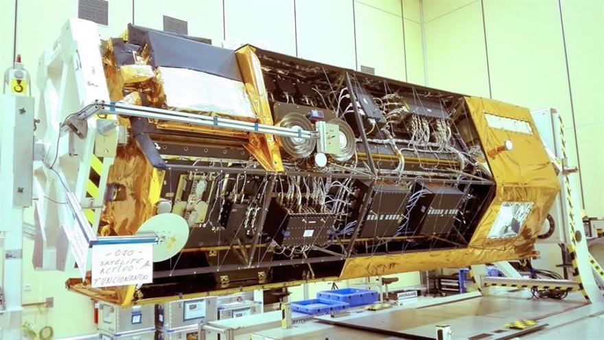 """El satélite español """"PAZ"""", listo para empezar a escanear la Tierra"""