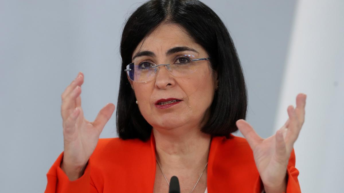 La ministra de Sanidad, Carolina Darías. EFE/Kiko Huesca