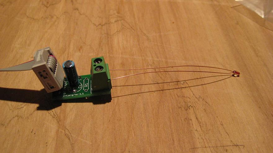 Un sensor de temperatura