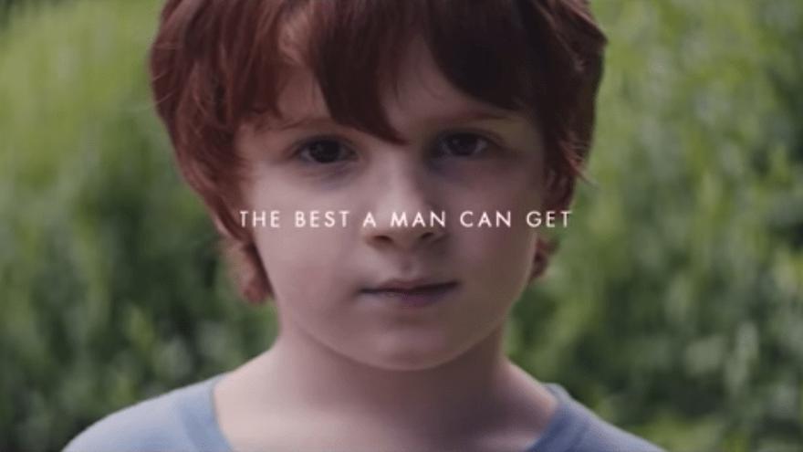 Fotograma anuncio de Gillette