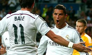 Real Madrid Champions Basilea Ronaldo Bale 300x180
