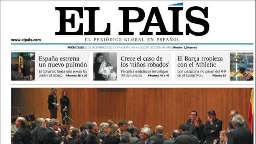 De las portadas del día (22/12/2010) #7