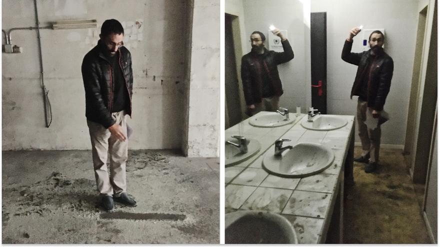 """El promotor de las """"casas colmena"""" enseña hasta dónde llegarán los habitáculos y el baño en Madrid"""