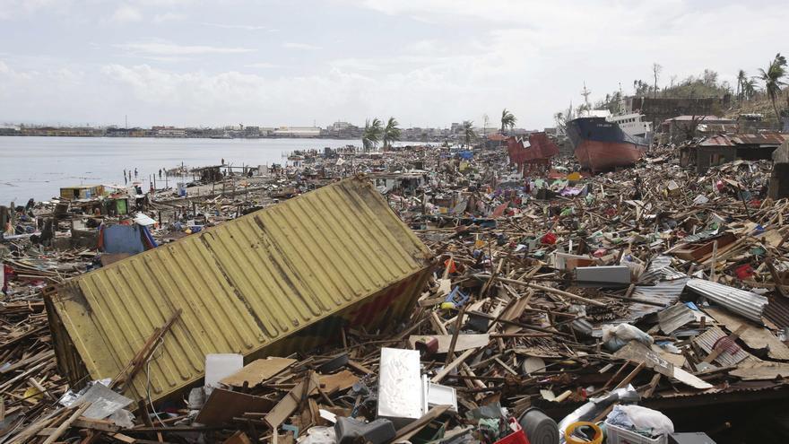 El tifón ha sembrado destrucción por todas las zonas de su recorrido