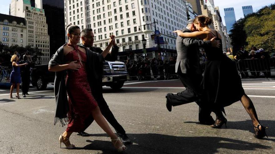 Los hispanos festejan en Nueva York su cultura común y su diversidad