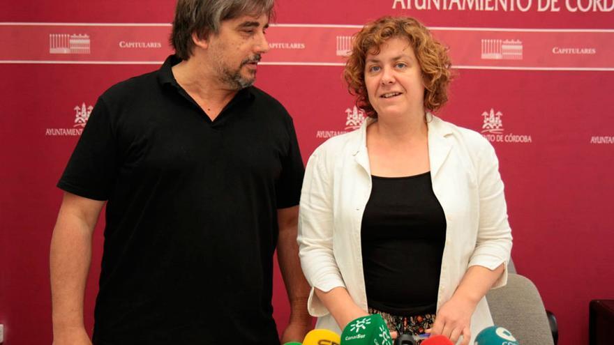 El gerente y la presidenta de Vimcorsa, Rafael Ibáñez y Alba Doblas.