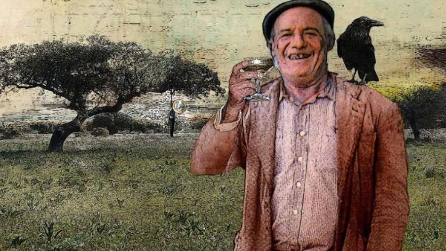 """""""Con Paco Rabal quedó encantado todo el pueblo. Muchas veces se quedaba en el hostal de Cipriano Sánchez, la Pensión Internacional"""" / Imagen: Paco Garabato"""