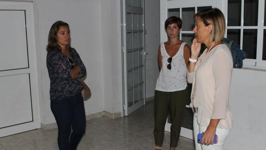 El Ayuntamiento de El Paso ha facilitado un local (en la imagen) a la Asociación de Familiares y Enfermos de Párkinson de la provincia de Santa Cruz de Tenerife.