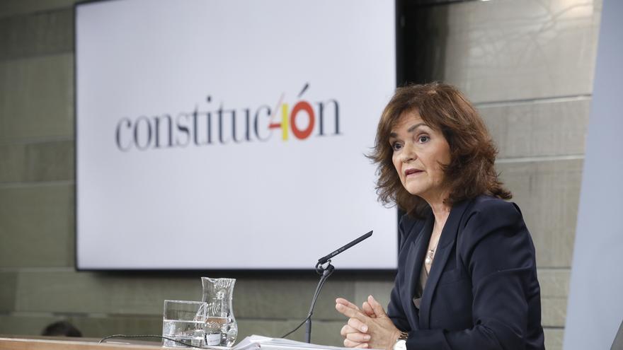 Carmen Calvo preside este lunes en Sevilla la entrega de los XIV Premios Plaza de España