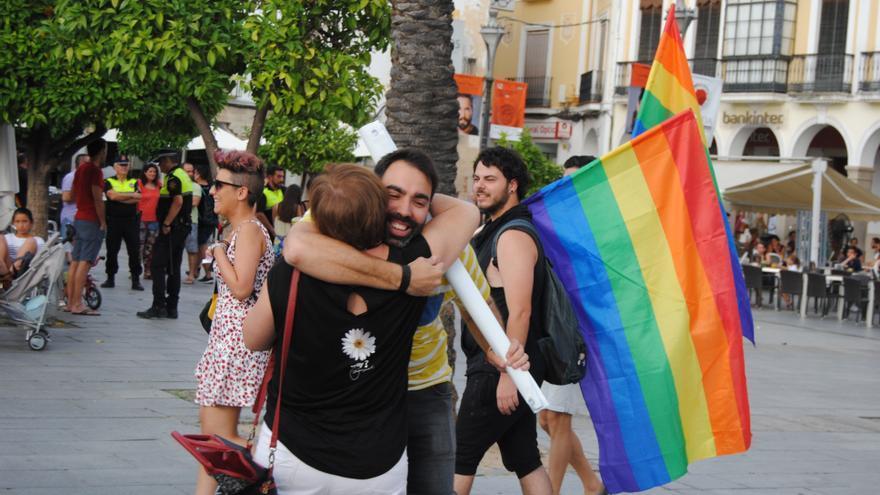 Foto de archivo de la celebración del orgullo LGTBI en Mérida