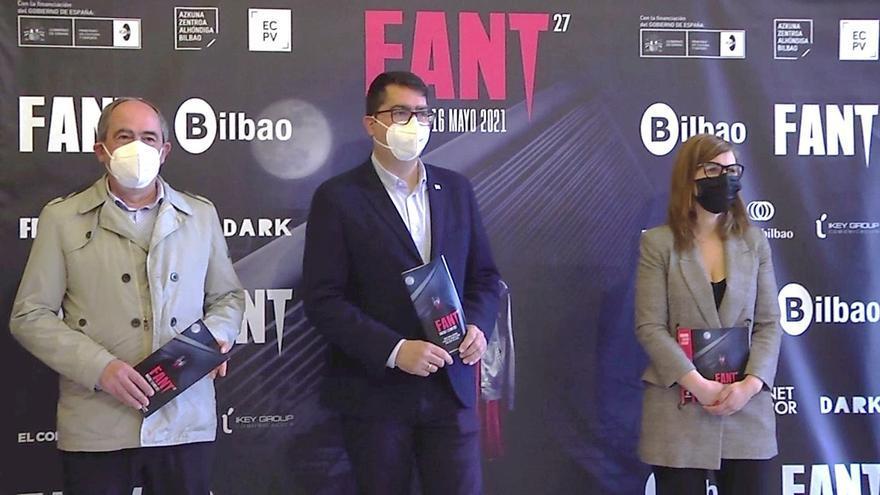 Presenbtación del festival Fant en Bilbao.