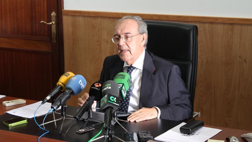 Vicente Garrido, fiscal jefe del Tribunal Superior de Justicia de Canarias (TSJC). Acoidán Díaz.