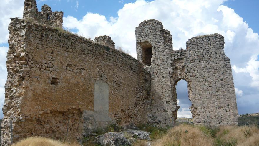 Castillo de Pelegrina, en pésimo estado. Raquel Gamo.