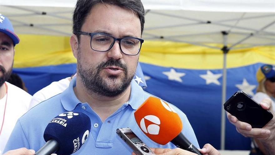 El presidente del PP de Canarias, Asier Antona.