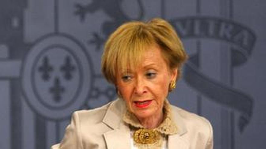 Vicepresidenta Del Gobierno, María Teresa Fernández De La Vega