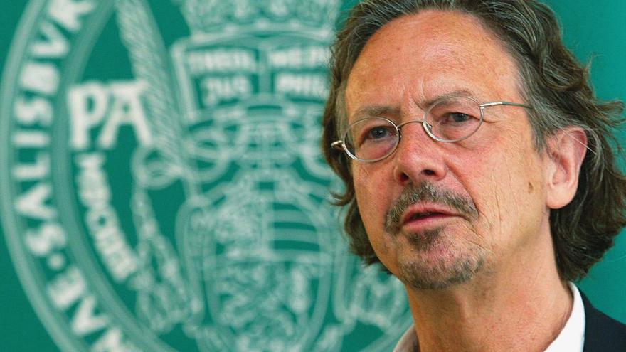 El escritor austriaco Peter Handke