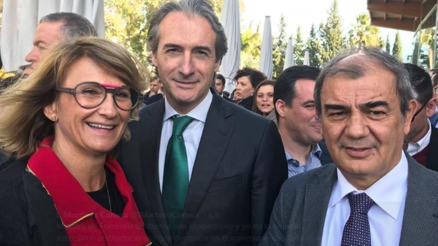 Isabel Martínez Conesa, Iñigo de la Serna y Juan Antonio Pedreño