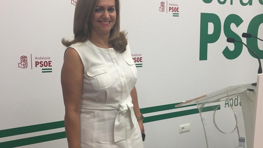 """PSOE-A valora el """"liderazgo"""" de Díaz para """"separar a Andalucía de la política de palo duro"""" de Rajoy en financiación"""