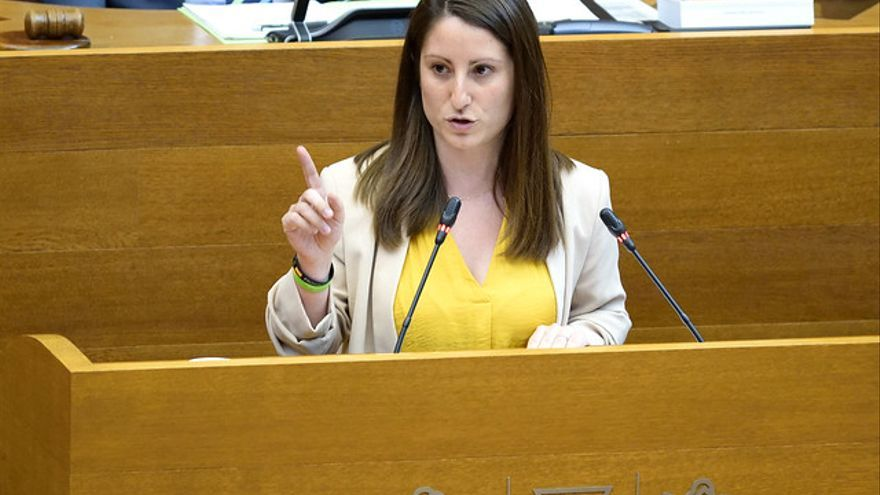 Ana Vega, portavoz parlamentaria de Vox