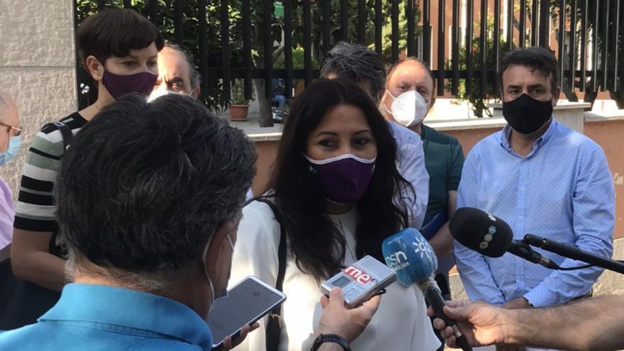 La secretaria de Acción Institucional de Podemos Andalucía, Alejandra Durán, en una foto de archivo.