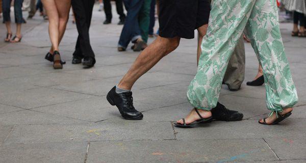 Baile de tango en las fiestas de 2014
