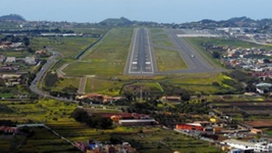 Aeropuerto de Los Rodeos.