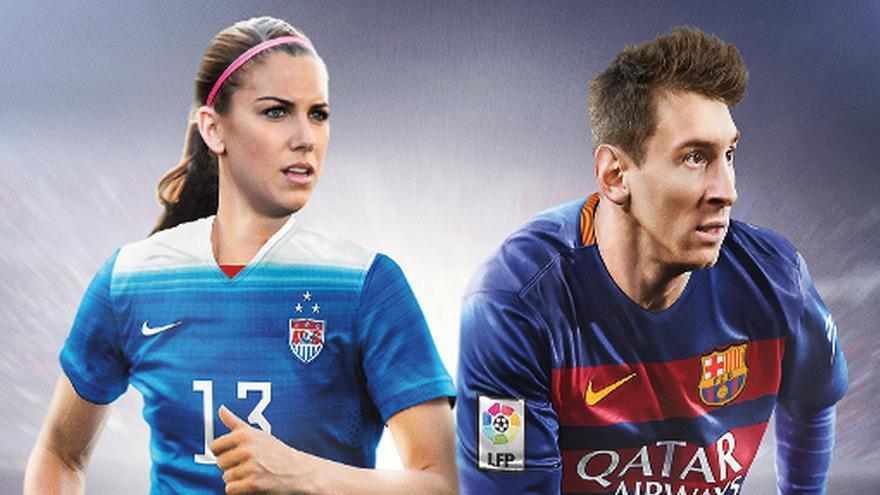 FIFA 16 caratula con mujeres