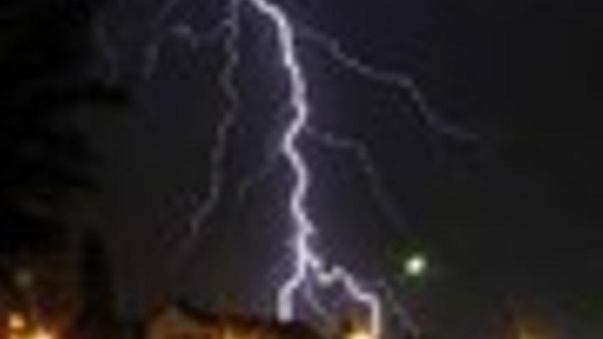 Tormenta en Catalunya el 2 de agosto de 2010