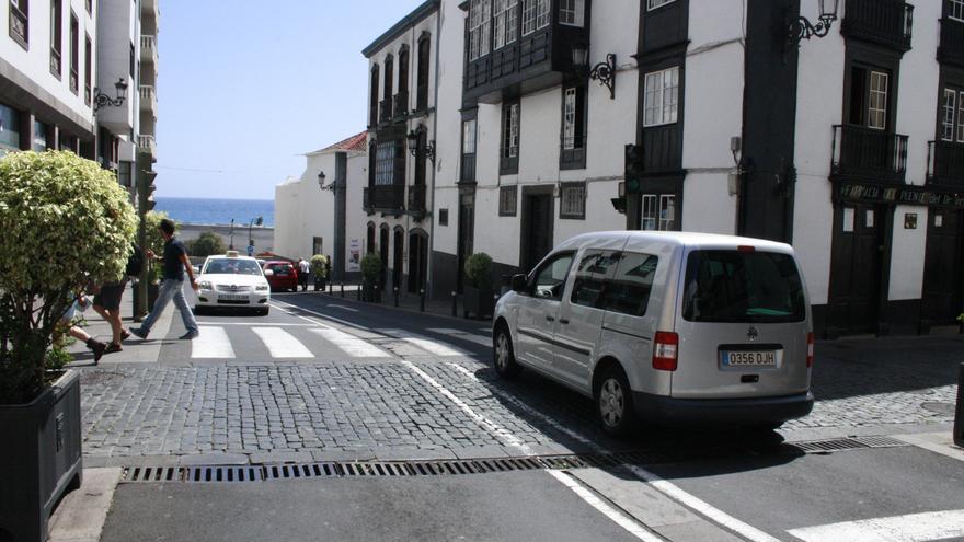 En la imagen, tramo de la avenida de El Puente.
