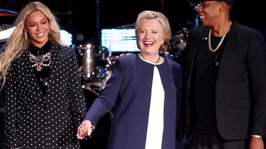 Hollywood y el pop se vuelcan con Clinton mientras el deporte apoya a Trump