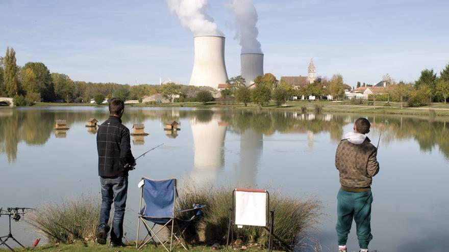 Central nuclear de Civaux, en el oeste de Francia. FOTO: PARLAMENTO EUROPEO