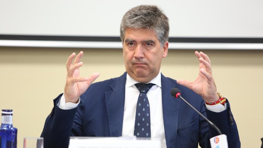El exdirector de la Policía y portavoz del PP en el Senado, Ignacio Cosidó