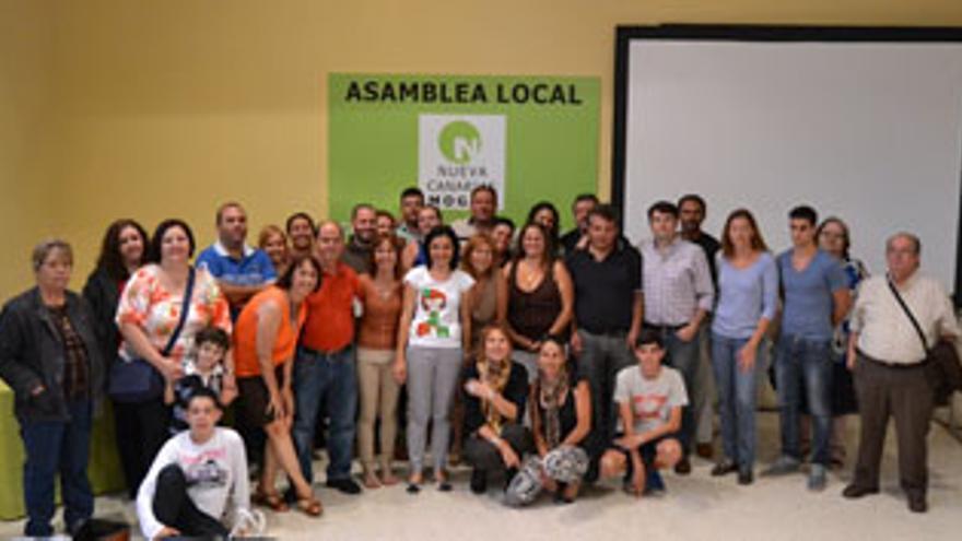 Isabel Santiago revalida los apoyos en NC de Mogán