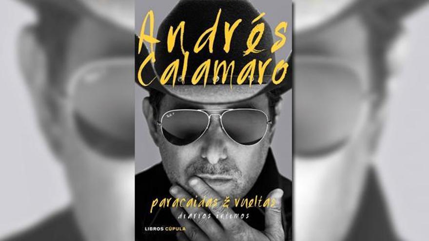 """Portada de """"Paracaídas & Vueltas"""", de Andrés Calamaro"""