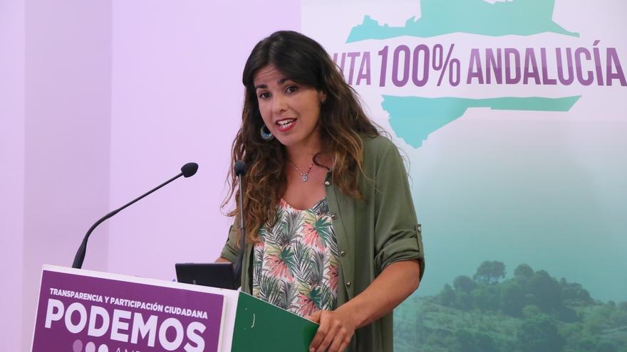 """Teresa Rodríguez (Podemos) invita a Susana Díaz a """"un cambio de dinámica más que a un cambio de caras"""""""
