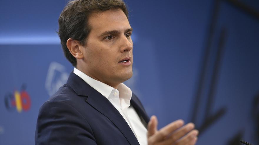 """Albert Rivera acusa a Torra de usar a los Mossos como """"policía política"""" y a Sánchez de equivocarse de """"aliados"""""""