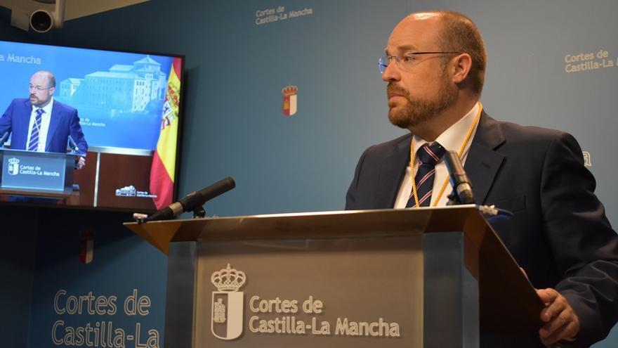 Sandro Ruiz, presidente del grupo de Ciudadanos en las Cortes
