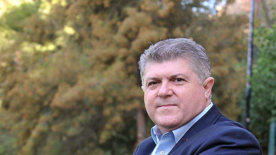 El alcalde de Calasparra, Pepe Vélez