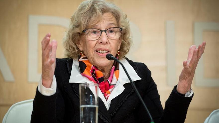 "Carmena reivindica el desarrollo de un ""modelo de la cultura femenina"""