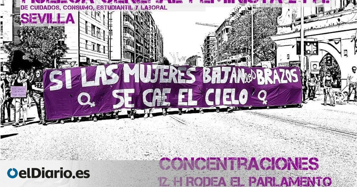La  vieja normalidad  de la precariedad laboral, la violencia machista o la brecha salarial: razones para el 8M en Andalucía, también en pandemia
