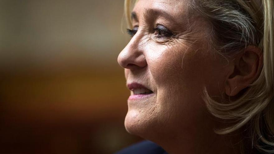 Marine Le Pen felicita a Abascal por los resultados de Vox en Andalucía