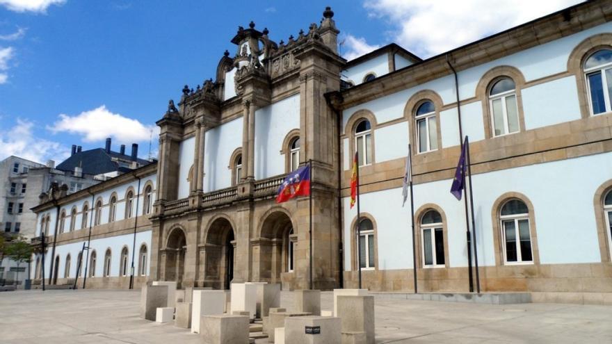 Pazo de San Marcos, sede de la Diputación de Lugo