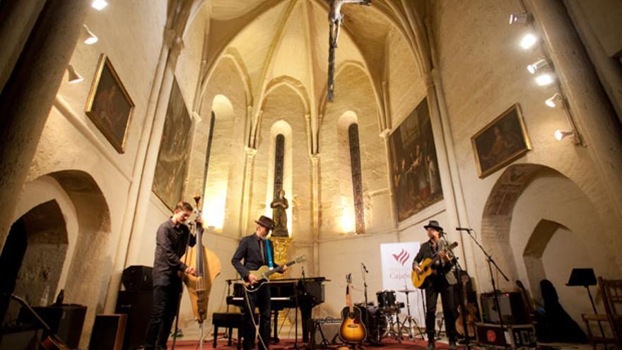 Un concierto en la iglesia de la Magdalena en una imagen de archivo   MADERO CUBERO