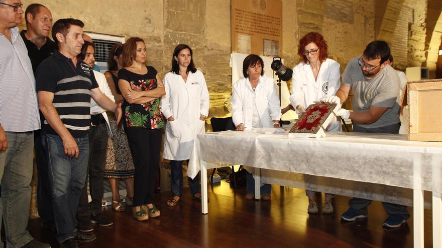 """El alcalde de Sijena cree que el caso de los bienes es """"muy claro"""" y que todas las piezas volverán al Monasterio"""