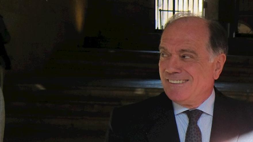 El exvicepresidente de la Junta de Castilla y León, Tomás Villanueva.