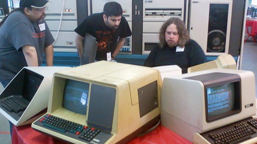 Algunos de los miembros de la Vintage Computer Federation