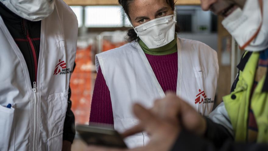 Intervención de Médicos Sin Fronteras en Alcalá de Henares
