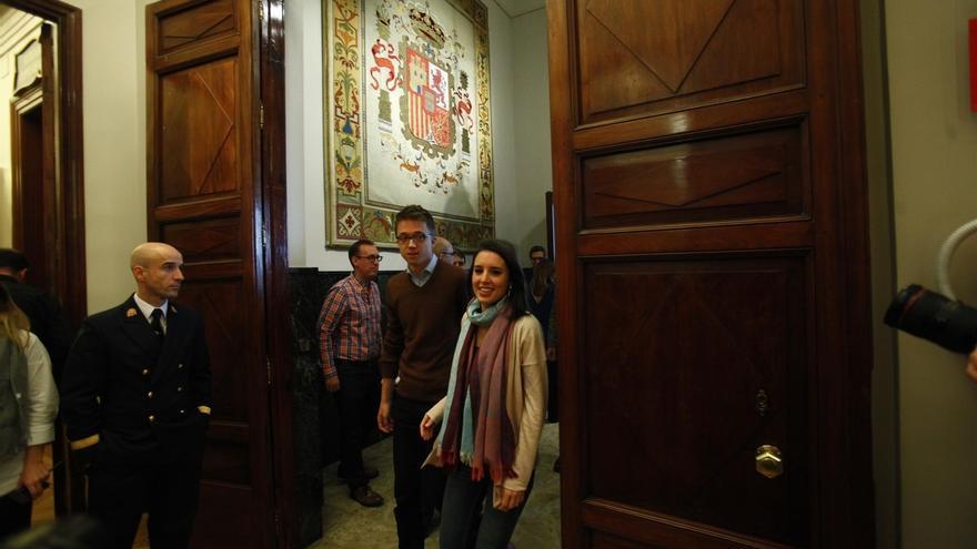 """Montero (Podemos) dice que las propuestas de Rodríguez se debatirán en Vistalegre """"y decidirán los inscritos"""""""