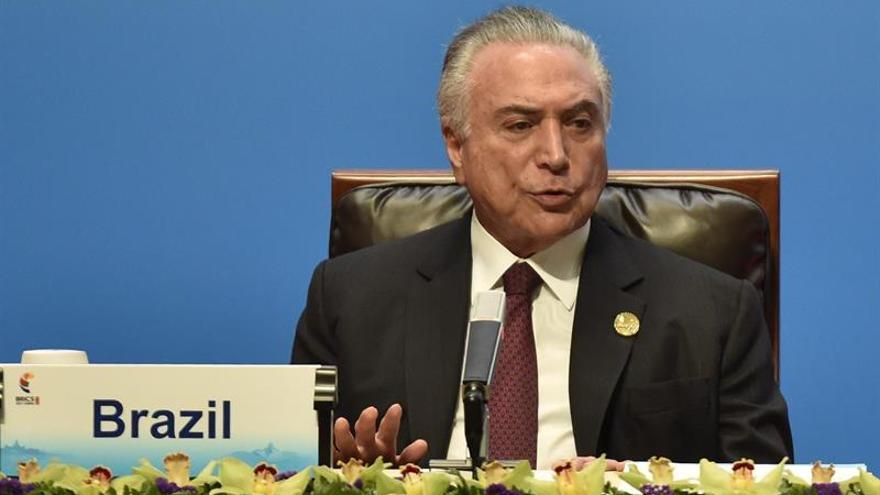 Temer propone un Foro de Inteligencia BRICS para combatir el terrorismo