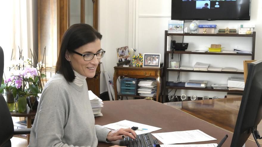 La alcaldesa de Santander y vicepresidenta de la Red Española de Ciudades Inteligentes (RECI), Gema Igual